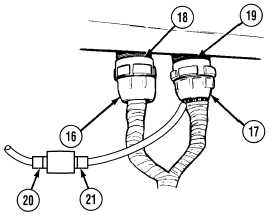 TM 9 2320 279 34 1 394 as well ELECTRICAL EQUIPMENT AND INSTRUMENTS 4097 further TM 9 2320 366 34 2 456 likewise Radiator remove and install  with air conditioning moreover 27586 How 1st Gen Alternator Replacement. on wiring harness ties
