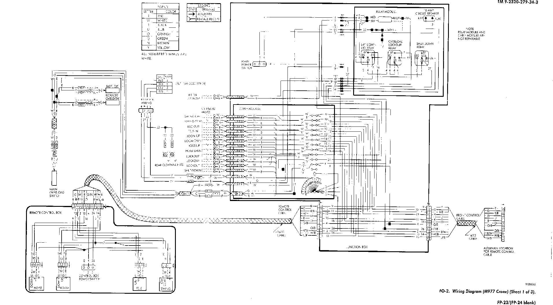 crane ignition wiring diagram